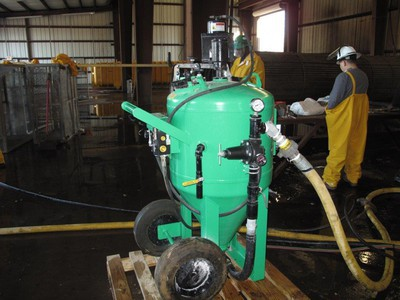 Sodablasting And Glass Bead Blasting For Abrasive Cleaning
