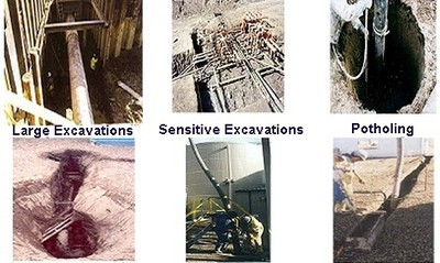 Large Excavations, Sensitive Excavations, and Potholing