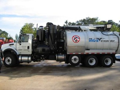 Hydroexcavation Truck used by CleanCo Systems