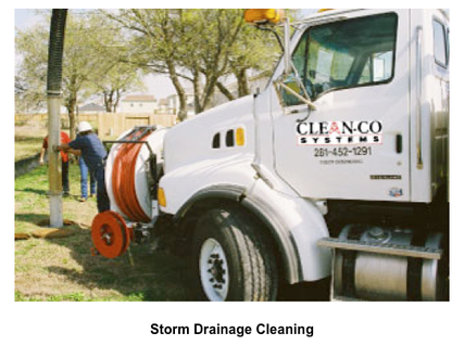 Storm Drain Cleaning with a Jet Rodder photo