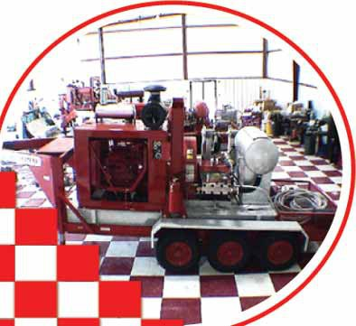 Industrial Cleaning Machine for Equipment Services
