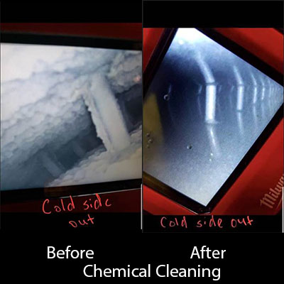 CleanCo Chemical Cleaning - Before and After