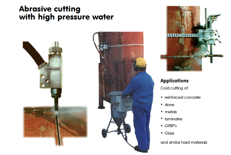Houston Water Jet Cutting Services
