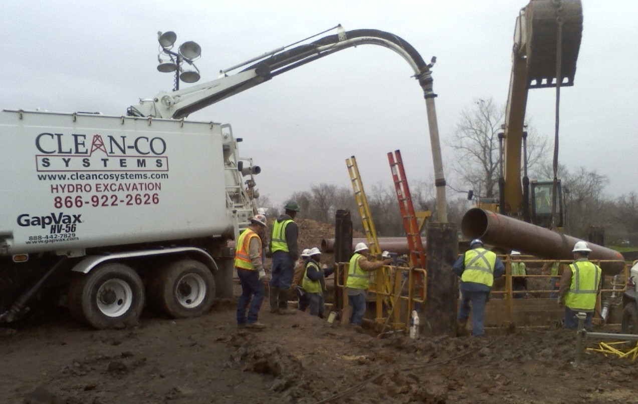 Hydro Excavation Services Cleanco Systems Of Texasclean