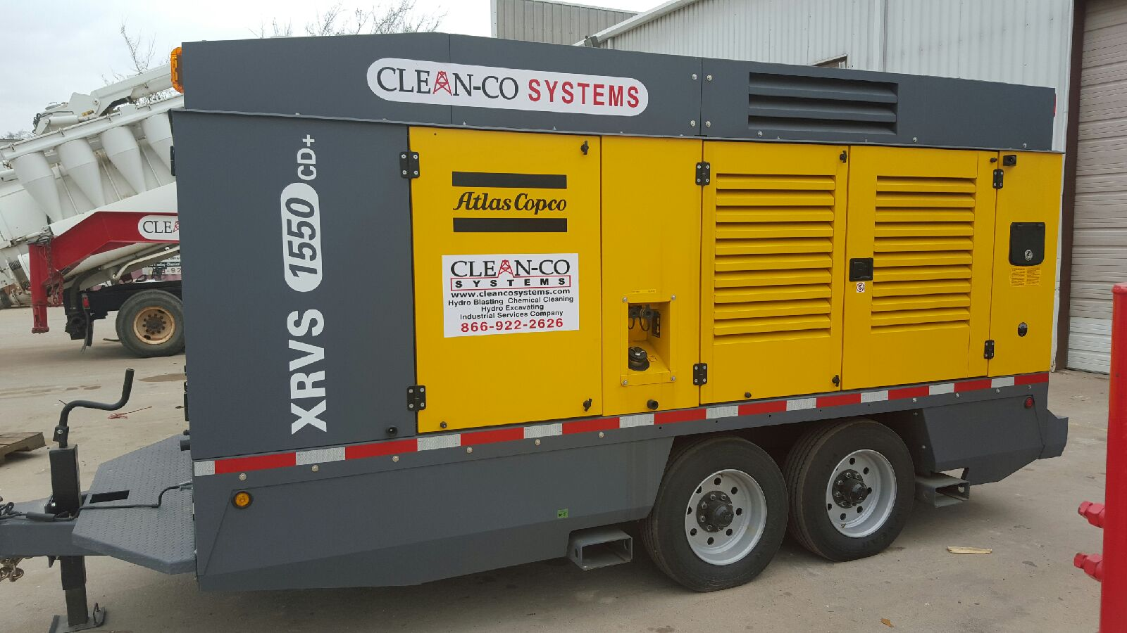 Cleanco DryIce blasting equipment